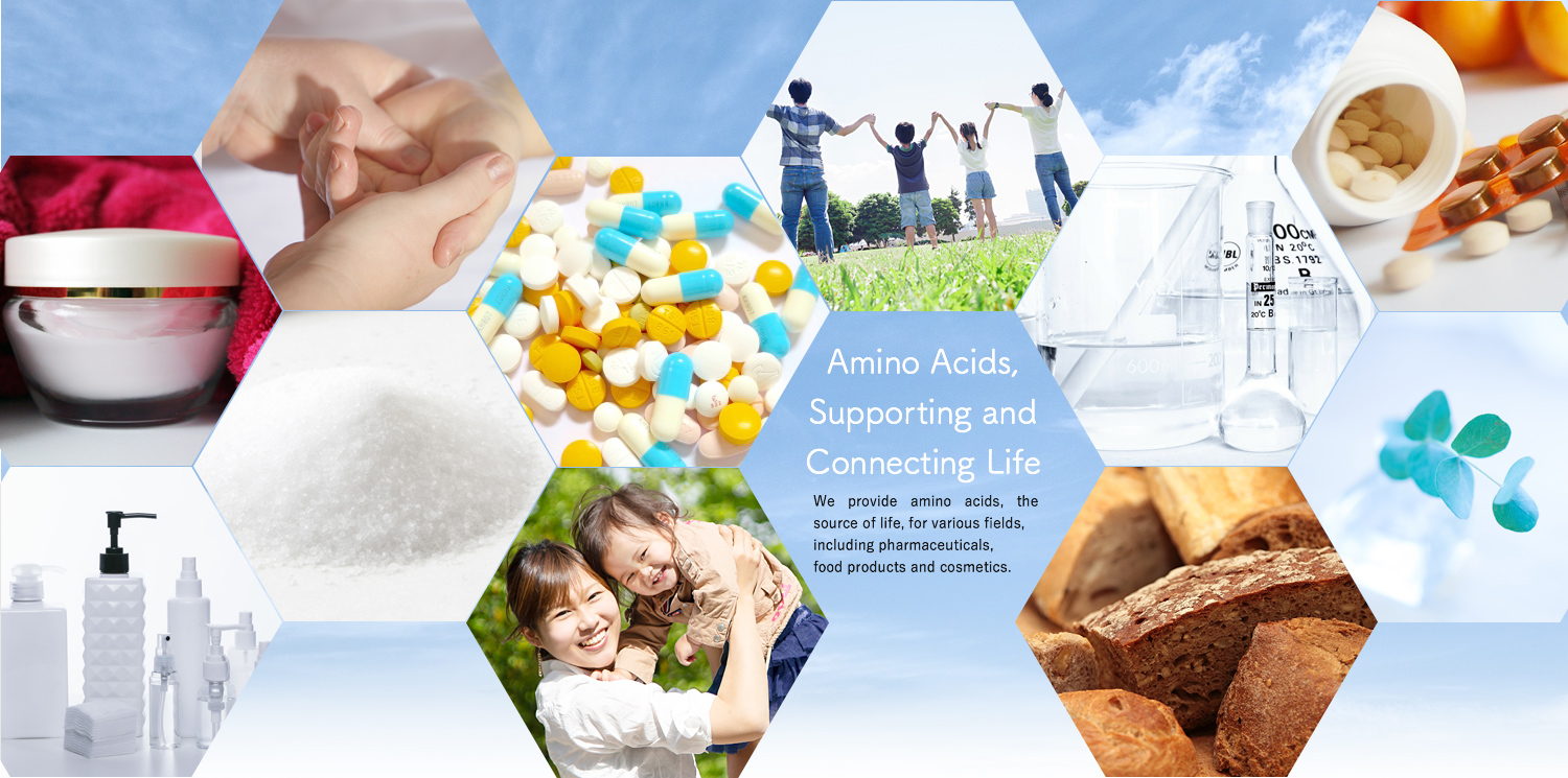 Amino Acids,Supporting and Connecting Life